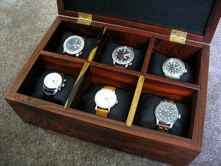 Well-liked Wooden Watch Display Case - Wooden Designs QO39